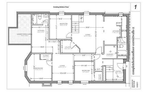 basement floor plans ideas chez neumansky 3rd times the charm bottom floor apartment
