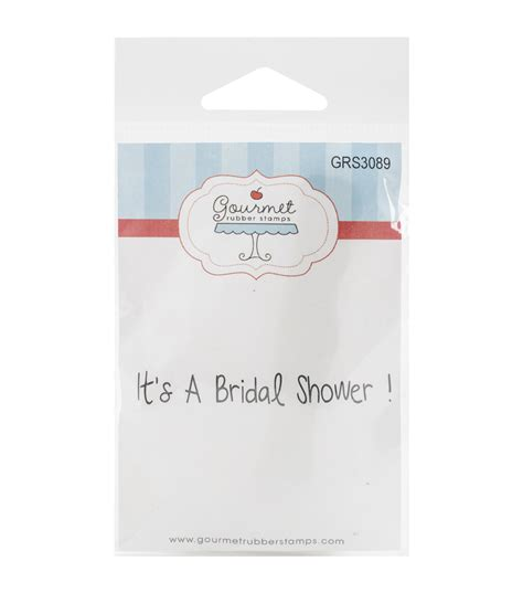 bridal shower rubber sts gourmet rubber sts bridal shower cling sts jo