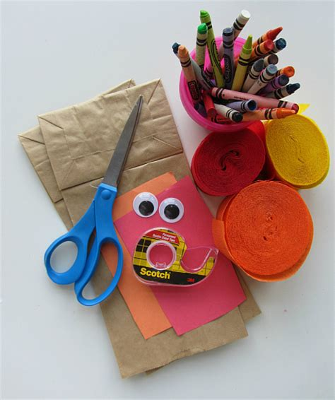 paper bag turkey crafts no glue turkey craft for thanksgiving no time for