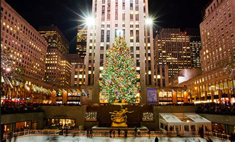 time square tree lighting 2014 charitybuzz 4 vip tickets to the 2014 rockefeller center