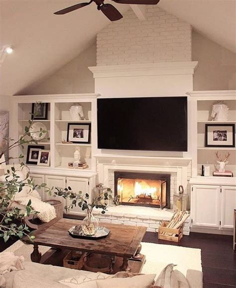 fireplace wall decor best 25 living room with fireplace ideas on