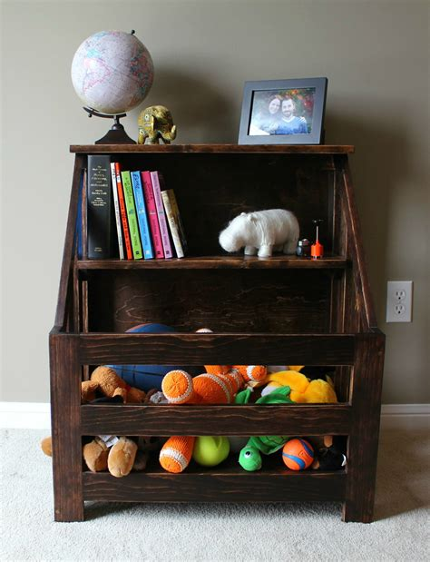 white bookcase with box turtles and tails bookshelf toybox combo diy