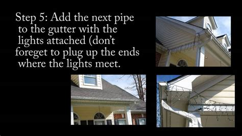 how to hang icicle lights how to hang icicle lights on gutters 28 images how to