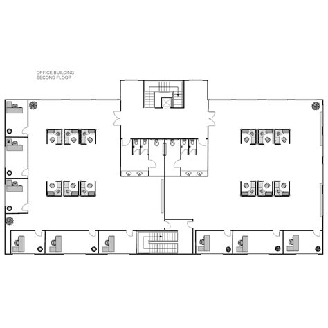 building floor plan office building layout