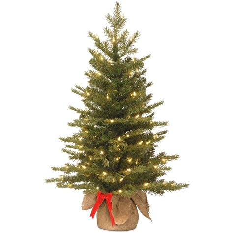 3 foot pink tree national tree company 3 ft nordic spruce artificial
