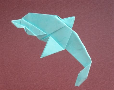 awesome easy origami origami dolphins page 1 of 2 gilad s origami page