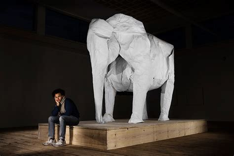 white elephant origami a size origami elephant folded from a single sheet of