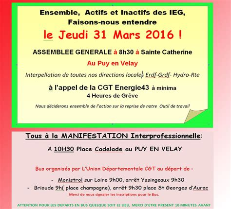 Modification Article 45 Code Du Travail by Cgt Energie 43