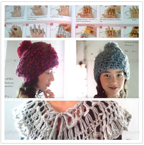 finger knitting patterns step by step finger knitting pattern book 183 saltymom