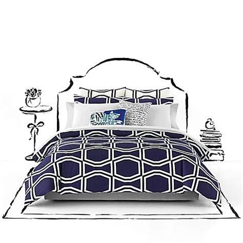 bow comforter set kate spade new york bow tile comforter set bed bath beyond