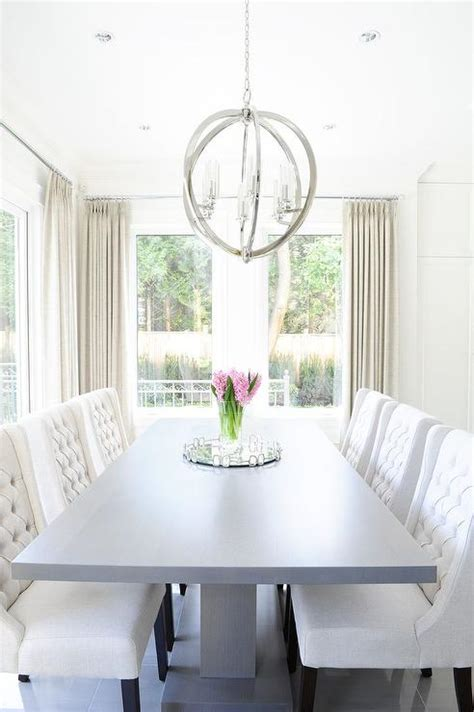 white pedestal dining table gray pedestal dining table with white tufted dining chairs
