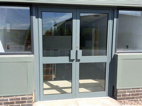 aluminium shop front doors automatic doors in leeds west