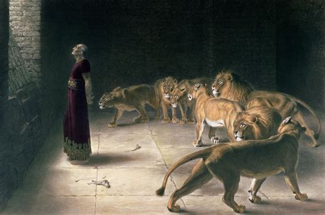 den painting daniel in the lions den painting by briton riviere