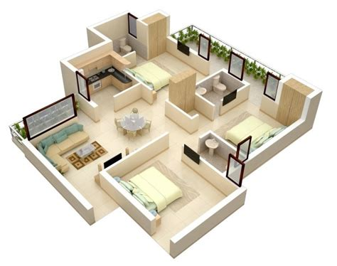floor plans for small bedrooms 3 bedroom apartment house plans