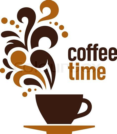 Coffee time   Stock Vector   Colourbox