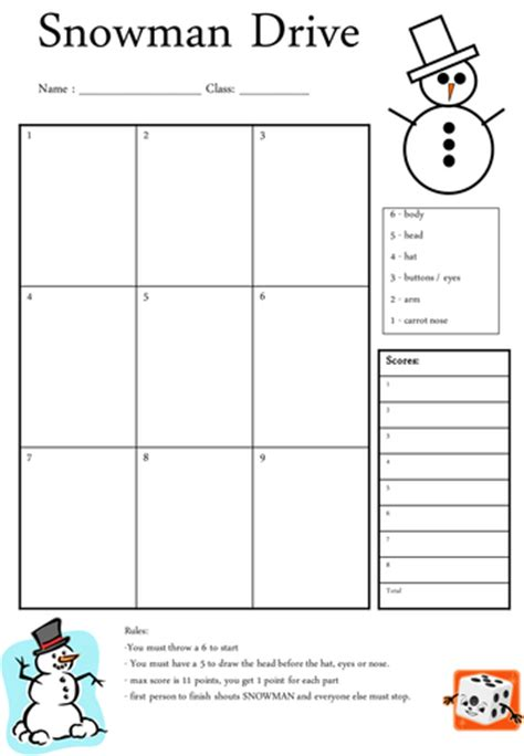 snowman game by njonesford uk teaching resources tes