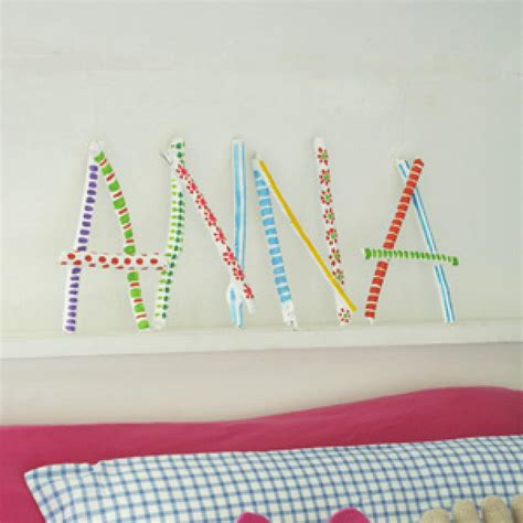 name crafts for personalized name craft parenting