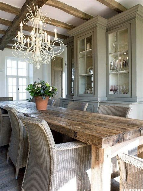 Rustic Home Interior Ideas 47 calm and airy rustic dining room designs digsdigs