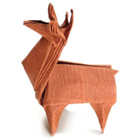origami reindeer how to make an origami reindeer page 1