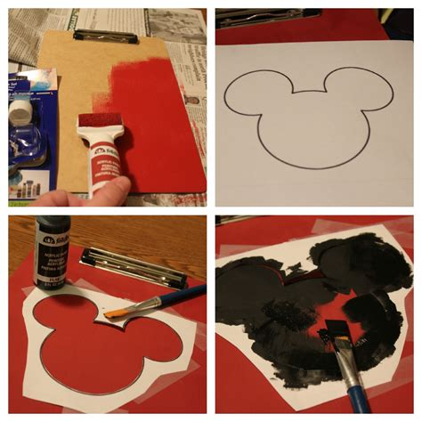 easy disney crafts for diy disney craft travel coloring activity board