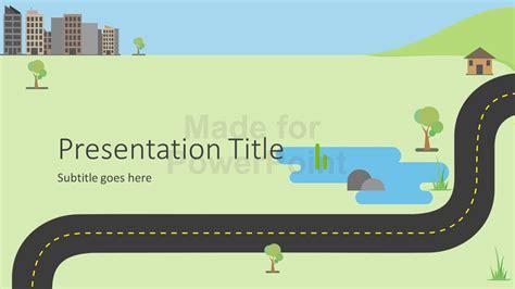 roadmap infographics powerpoint template