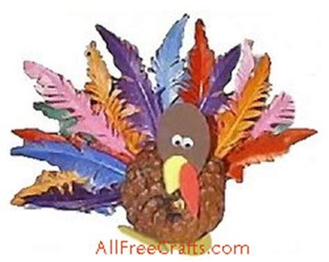 all free crafts pine cone turkey all free crafts