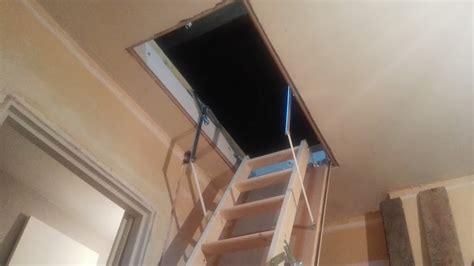 installer un escalier echelle escamotable pour combles bricolerenove fr