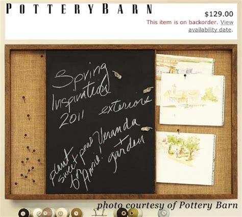 diy chalkboard bulletin board 100 gorgeous burlap projects that will beautify your