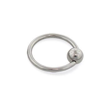 how to change a captive bead ring titanium captive bead ring 16 ga