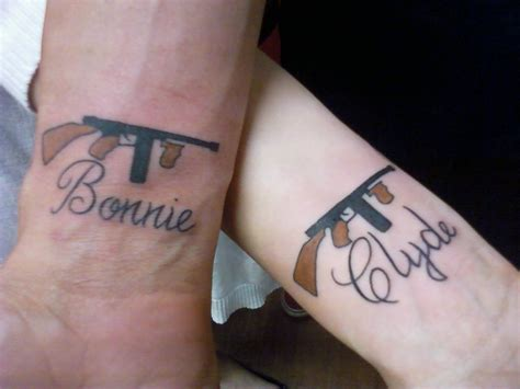 bonnie and clyde couples tattoo someday soon d pinterest