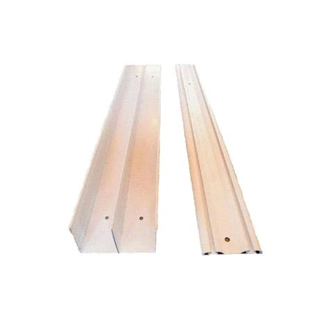 closet door track replacement shop reliabilt 96 in bi pass door sliding closet door