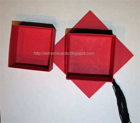 origami graduation cap graduation cap money gift box 183 how to make a paper box