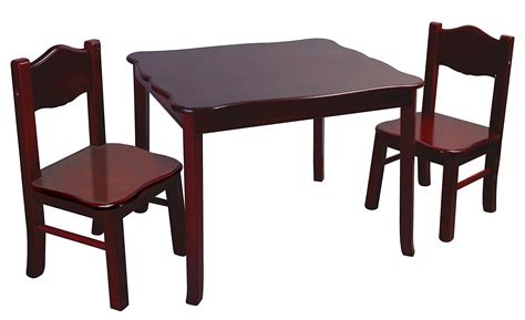 table and chairs guidecraft classic espresso table and chairs set g86202