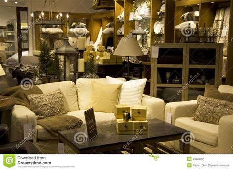 luxury home decoration luxury furniture home decor store royalty free stock photo