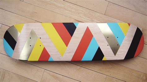 spray painting skateboard deck skate deck paintings 171 reallybigcool