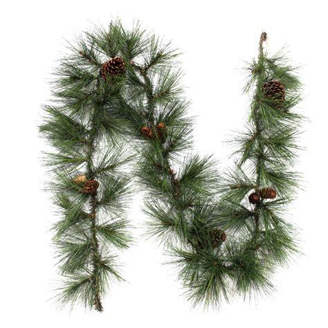 needle pine garland pine needle garland sears