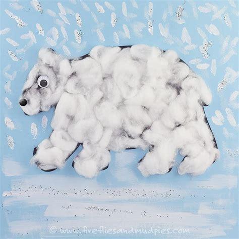printable polar bear craft allfreekidscrafts com