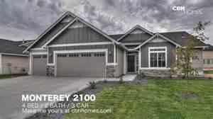 3 car garage homes cbh homes monterey 2100 4 bed 2 bath 3 car garage