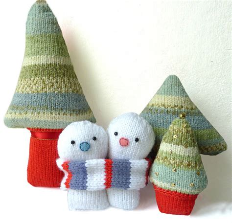 knitted kits everlasting snowmen knitting kit by gift knit kits