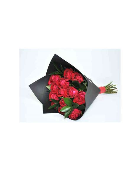 black craft paper bouquet of roses in black craft paper flowerscity 174