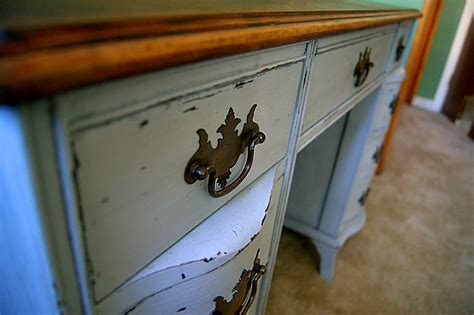 diy chalk paint and wax antique desk redo using diy chalk paint and diy wax