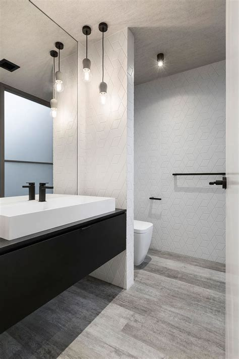 white modern bathroom 25 best ideas about bathroom pendant lighting on