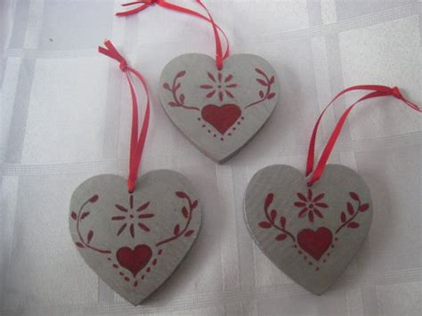 february crafts wooden hearts crafts february st valentines day