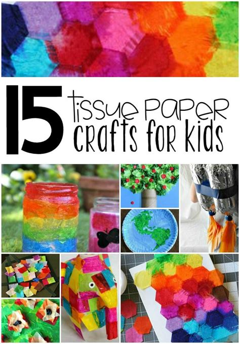 crafts to do with tissue paper 17 best ideas about tissue paper crafts on