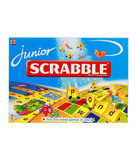 scrabble jr scrabble junior crossword board buy