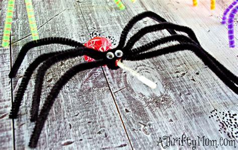 spider craft for diy lollipop spiders ghosts kid friendly craft