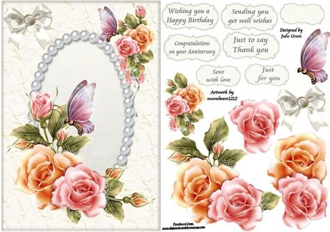 free decoupage sheets to free printable decoupage card templates search