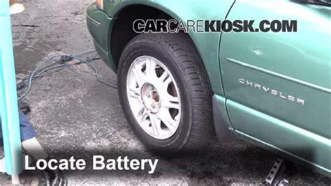 Chrysler Sebring Battery Location by Battery Replacement 1995 2000 Chrysler Sebring 2000