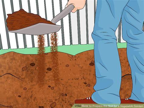 preparing vegetable garden soil how to prepare the soil for a vegetable garden 8 steps