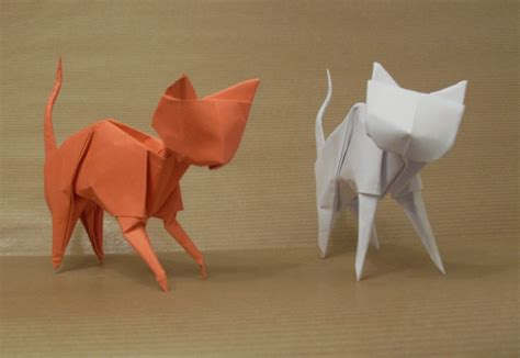how to make an origami cat origami cats by orestigami on deviantart